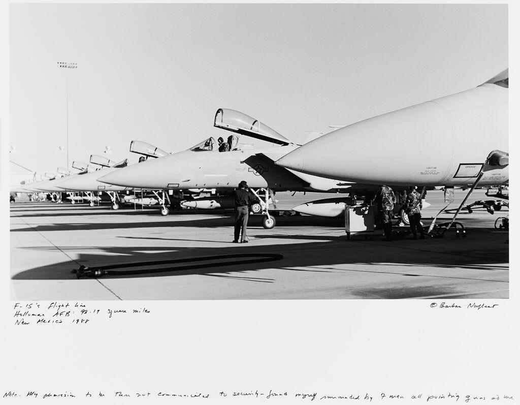 F-15'S Flight Line, Holloman Afb: 93.19 Square Miles, New Mexico