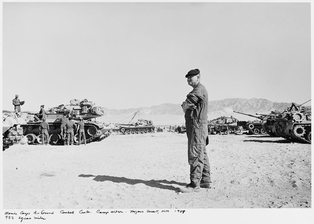 Marine Corps Air Ground Combat Center: Camp Wilson: Mojave Desert, Nm, 932 Square Miles
