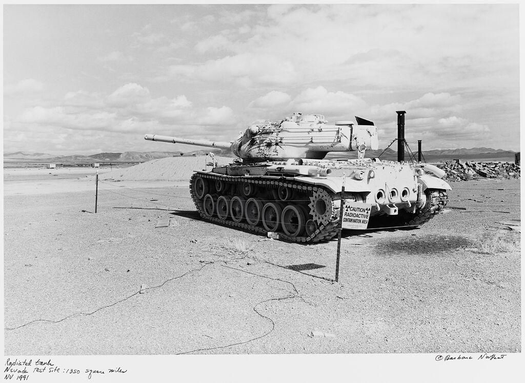 Radiated Tank, Nevada Test Site: 1350 Square Miles, Nv