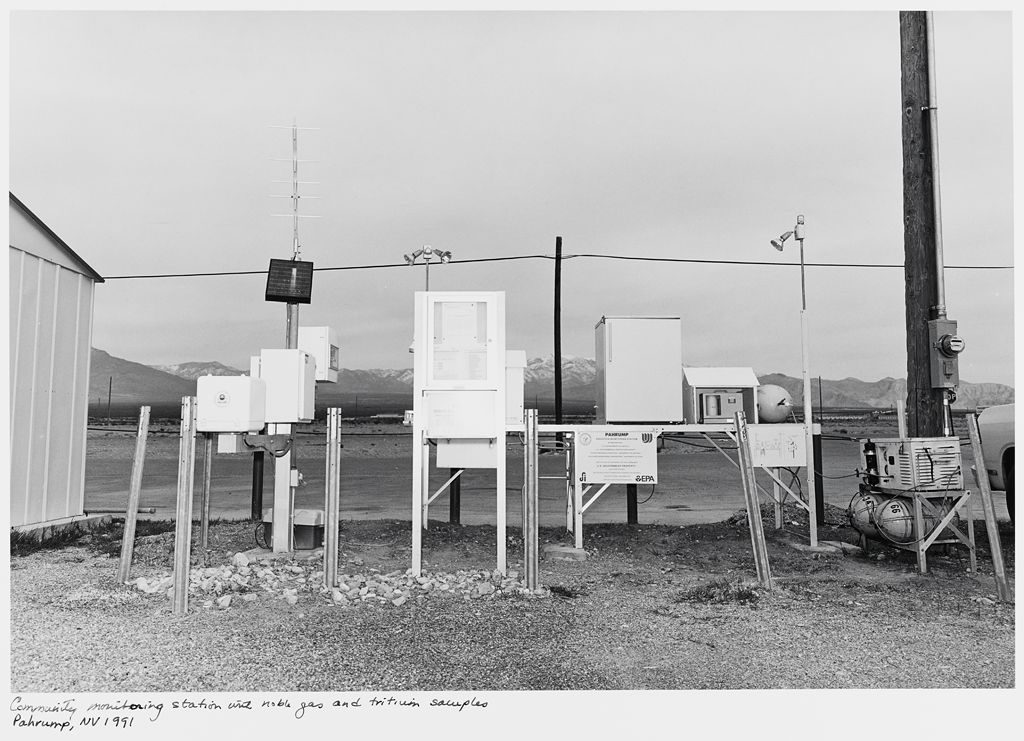 Community Monitoring Station With Noble Gas And Tritium Samples, Pahrump, Nv