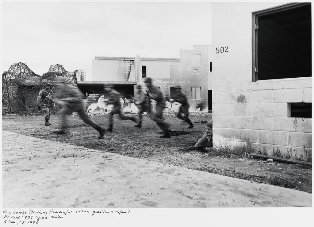 War Games (Training Germans For Urban Guerilla Warfare) Ft. Hood: 339 Square Miles, Killeen, Tx