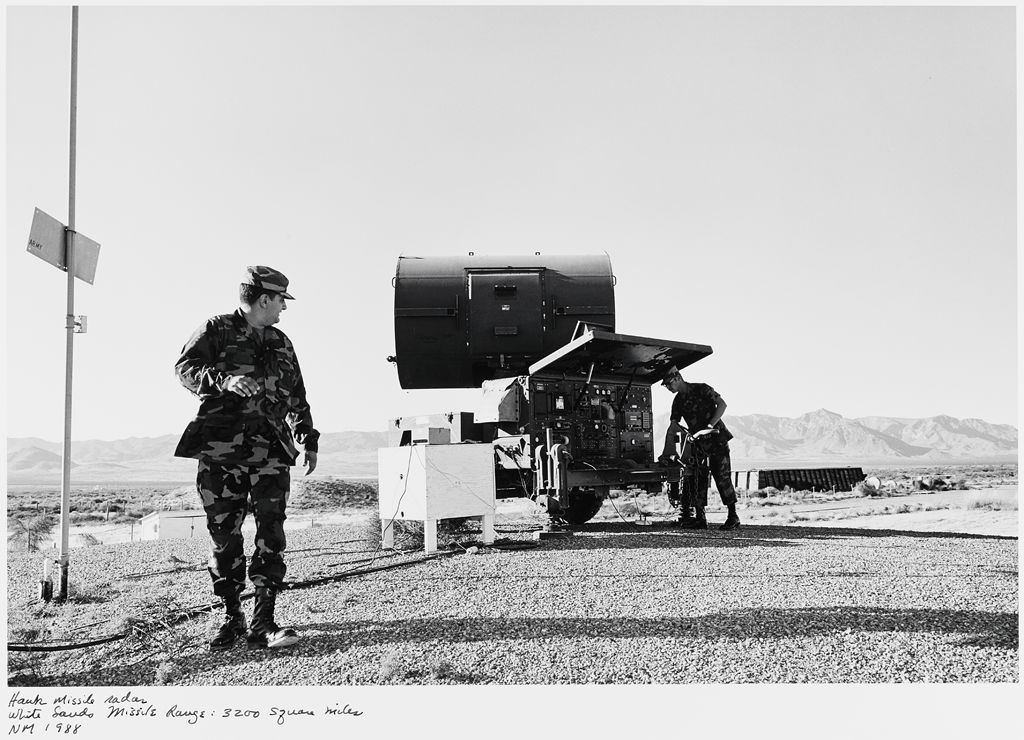 Hawk Missile Radar, White Sands Missile Range: 3200 Square Miles, Nm