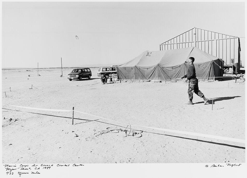 Marine Corps Air Ground Combat Center, Mojave Desert, Ca, 932 Square Miles