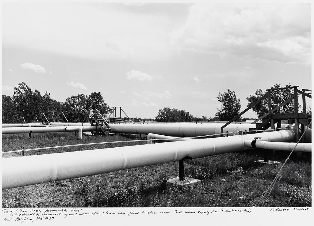 Twin Cities Army Ammunition Plant, (An Attempt To Decontaminate Ground Water After Three Towns Were Forced To Close Down Their Water Supply Due To Contamination) New Brighton, Mn