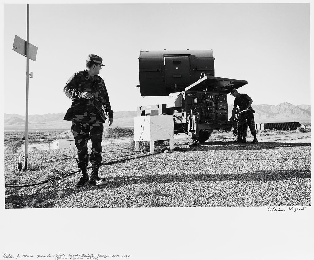 Radar For Hawk Missile: White Sands Missile Range, Nm (3200 Square Miles)