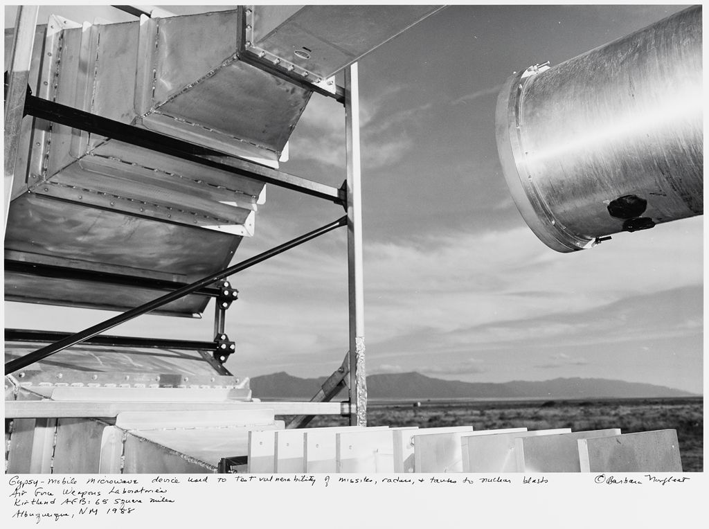Gypsy-Mobile Microwave Device Used To Test Vulnerability By Missiles, Radars, And Tanks To Nuclear Blasts, Air Force Weapons Laboratories, Kirtland Afb: 65 Square Miles, Albuquerque, Nm