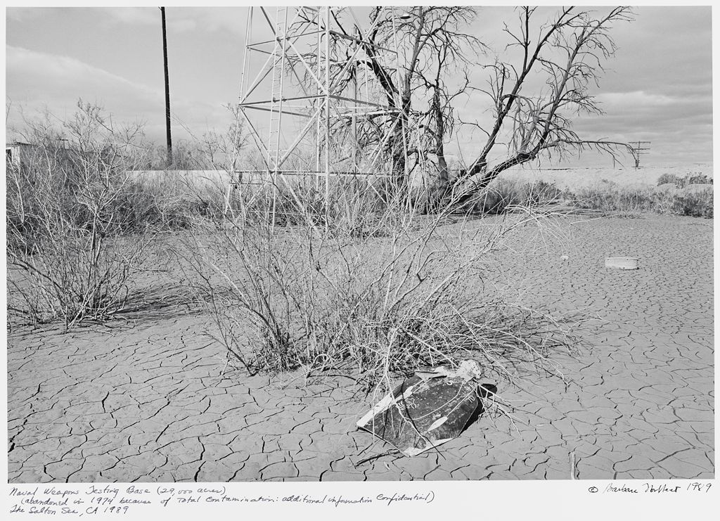 Naval Weapons Testing Base (29,000 Acres), (Abandoned In '74 Because Of Total Contamination: Additional Information Confidential), The Salton Sea, Ca