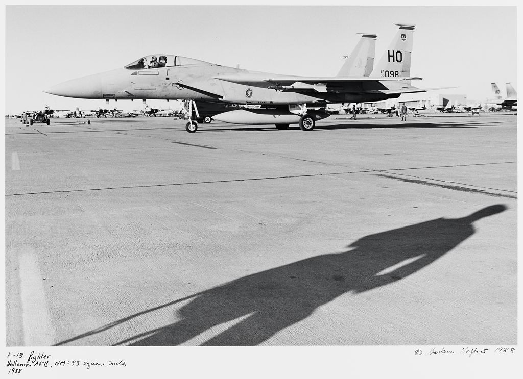 F-15 Fighter, Hollomon Afb, Nm: 93 Square Miles