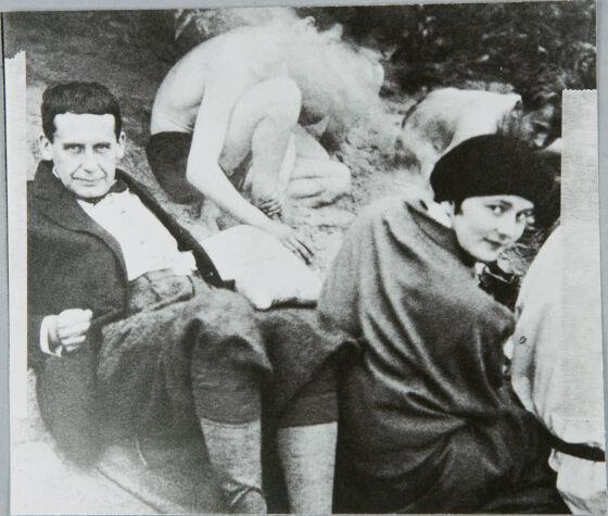 Walter Gropius and Alma Mahler   Walter Gropius Art