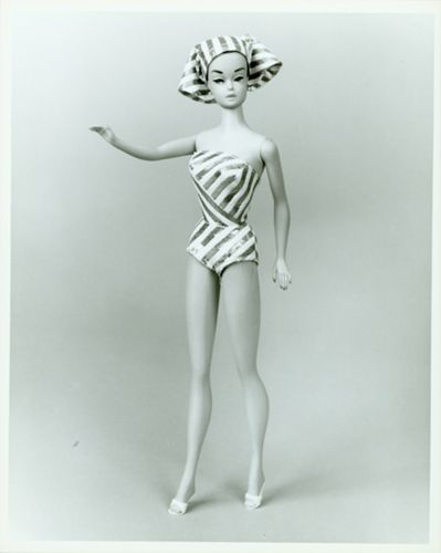 Barbie doll circa 1961-1966.