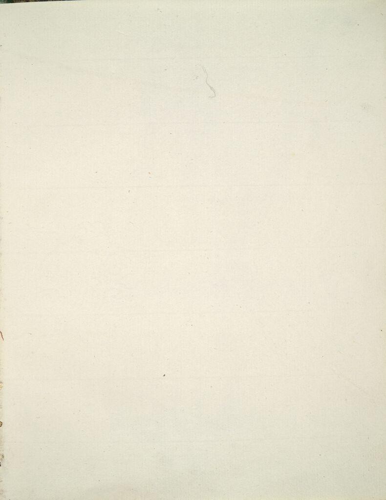 Faint Sketch Of Maréchal Lefebvre's Profile