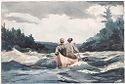 Canoe In Rapids