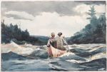 Canoe in Rapids