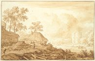 Landscape with Cottage and Ruined Castle