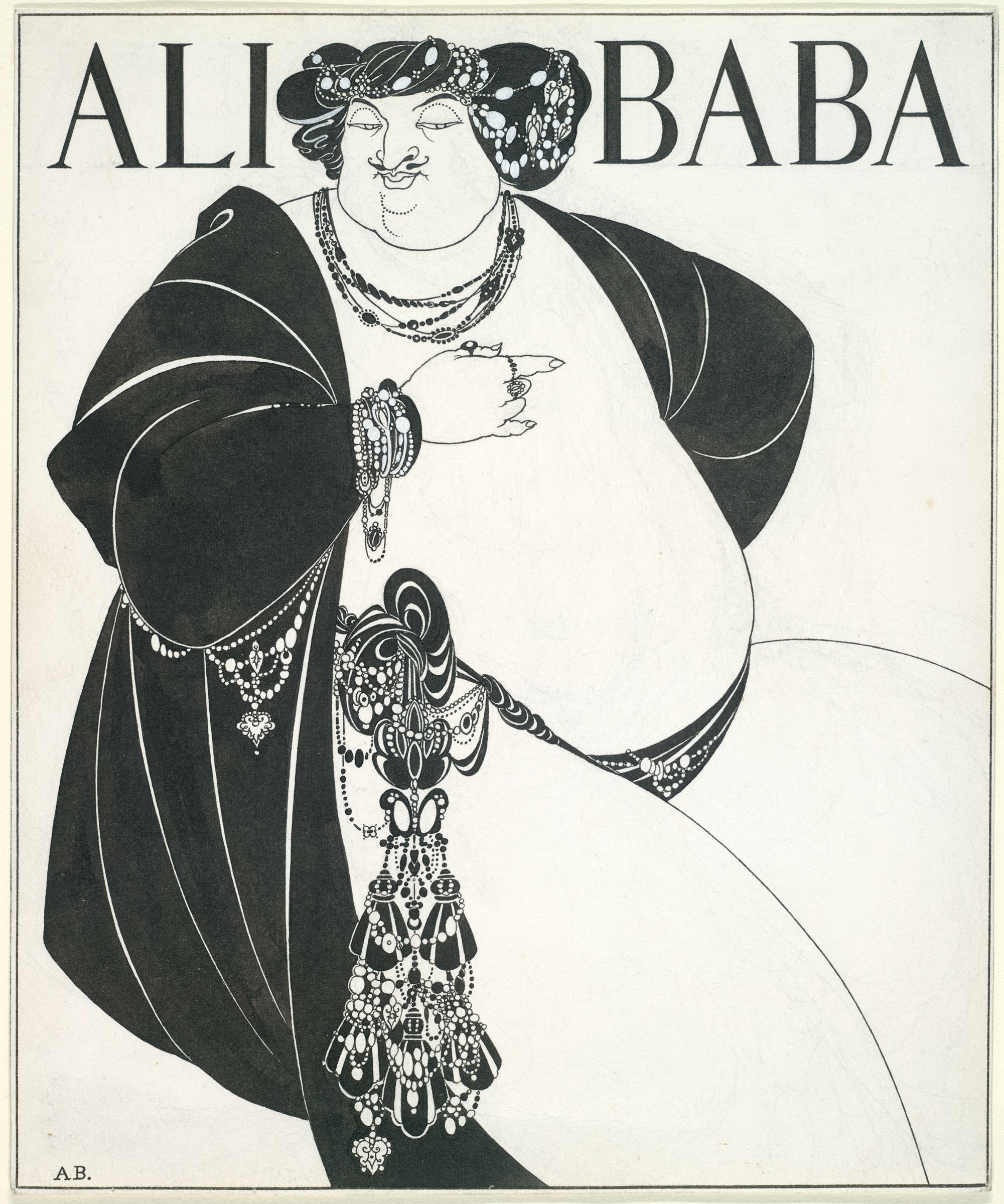 Ali Baba (Cover Design For
