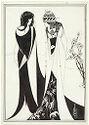 John And Salome; Verso: Illegible Sketch
