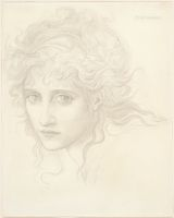 Head Of A Young Woman (Study For