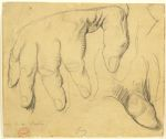 Study for the Right Hand of Monsieur Louis Bertin