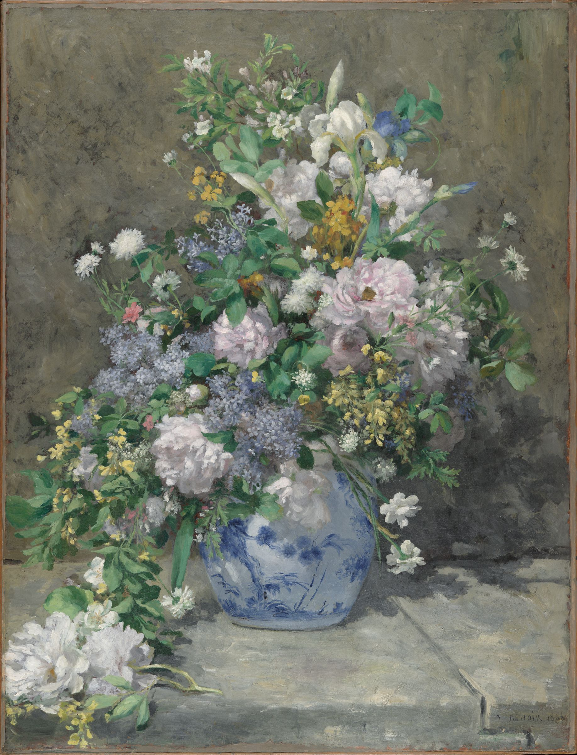 From the harvard art museums collections spring bouquet for Design del mazzo online
