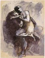 Vase Clodion (Lovers)