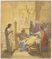 Virgil Reading The Aeneid To Augustus (Study For