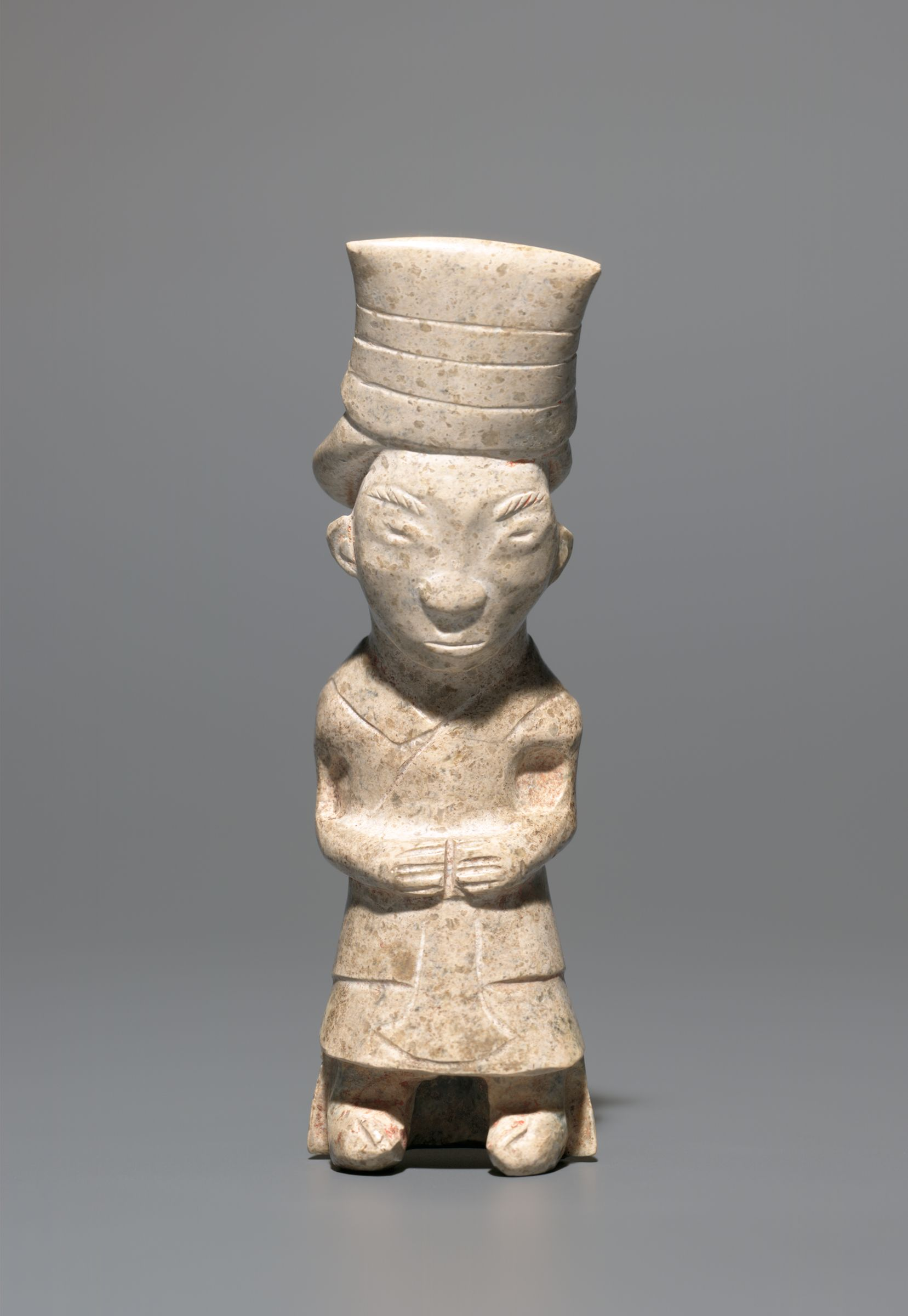Jade Statuette Of A Standing Dignitary
