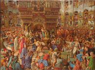The Miracle of the Sacred Fire, Church of the Holy Sepulchre