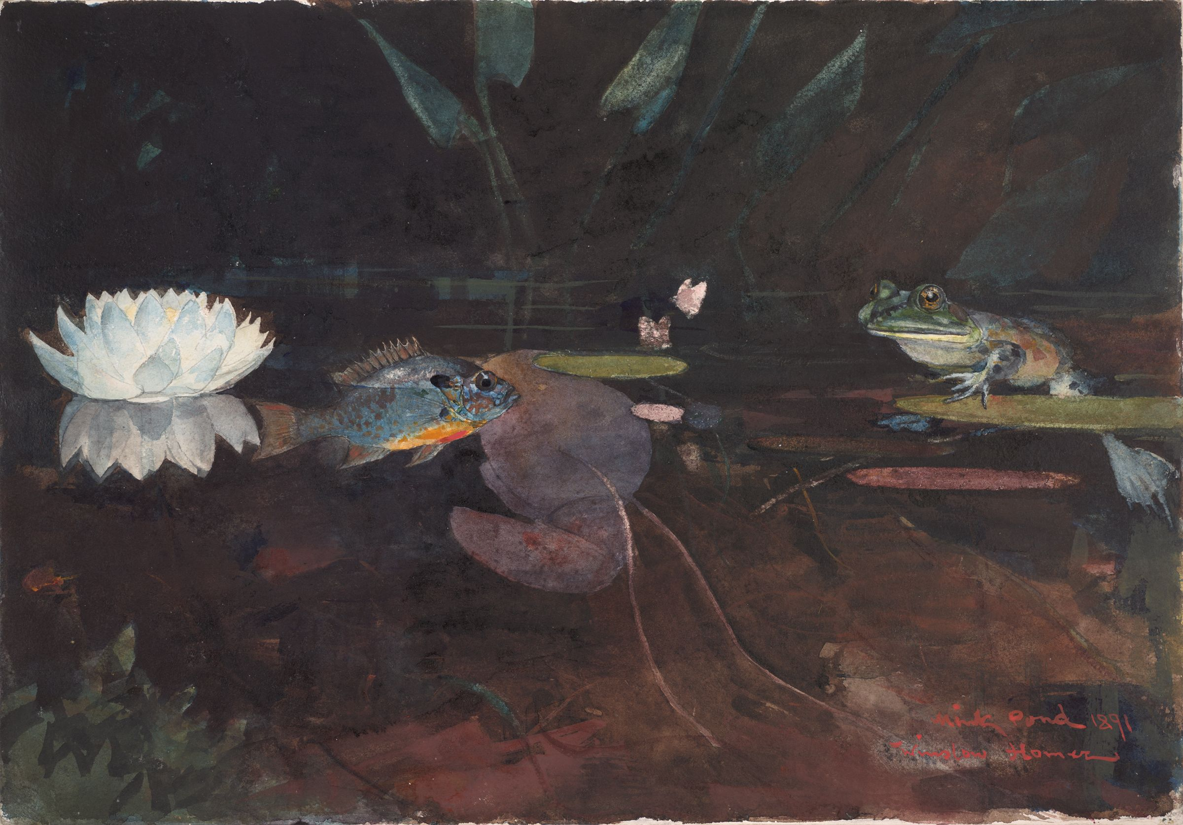 From The Harvard Art Museums Collections Mink Pond