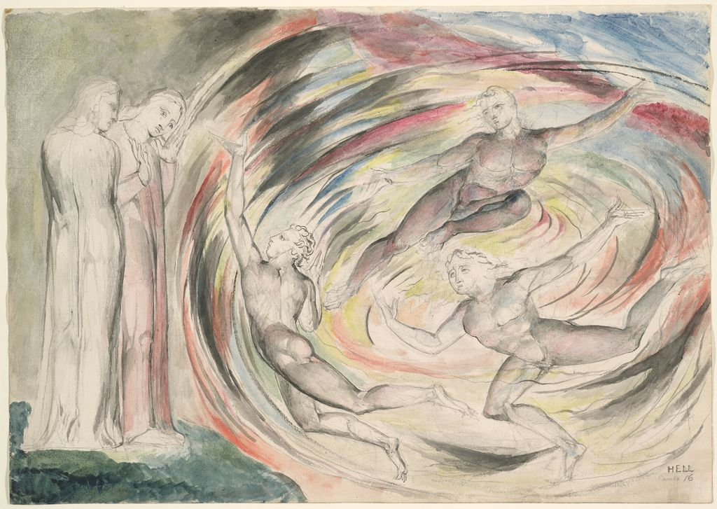 The Punishment Of Rusticucci And His Companions (From Dante's