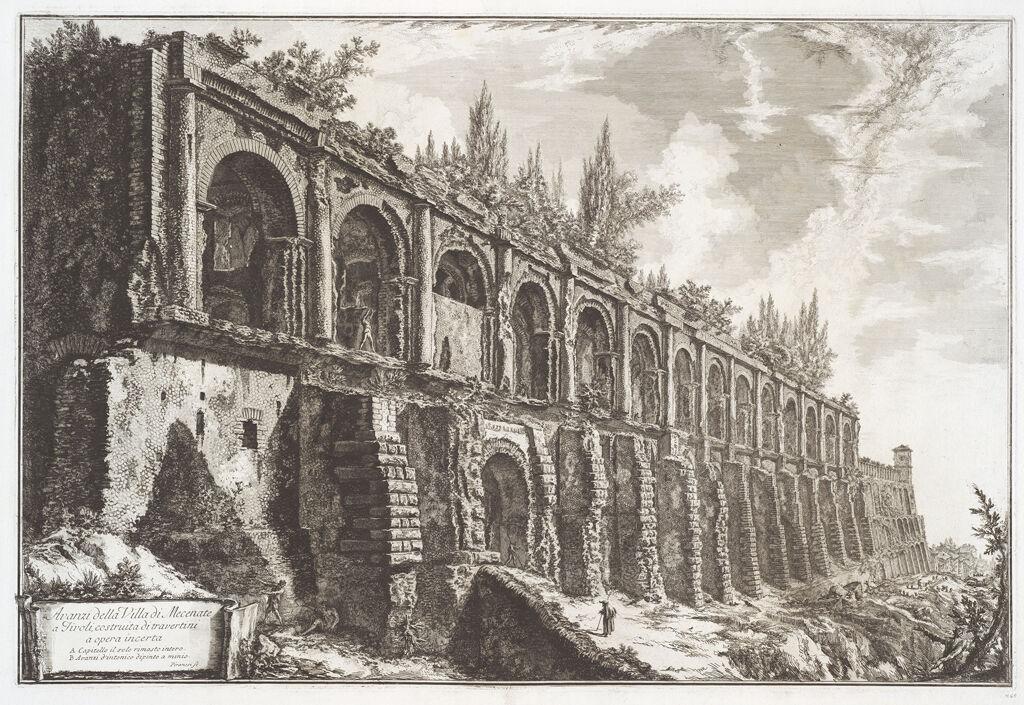 The So-Called Villa Of Maecenas, Tivoli