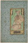 Portrait of Sultan Husayn Mirza, folio from an album