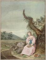 Portrait of a Woman as a Shepherdess
