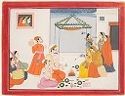The Wedding Of Krishna And Rukmini, Folio From A Bhagavata Purana Series