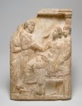 Attic Grave Stele: Woman Dying in Childbirth