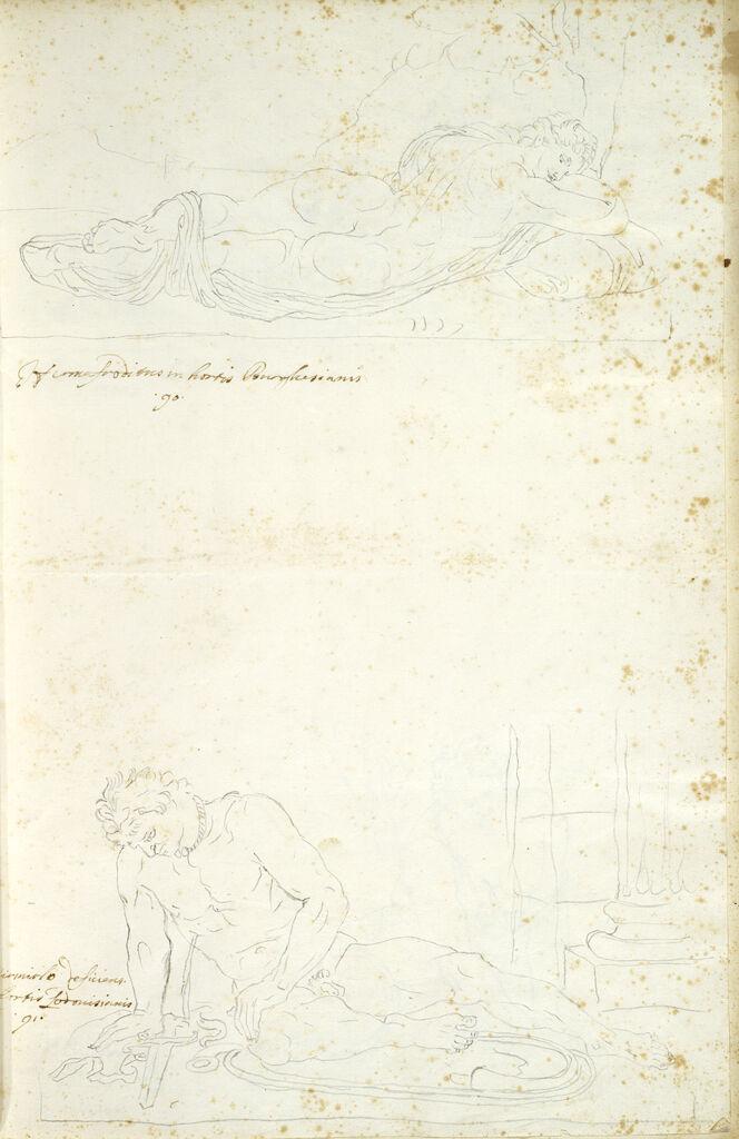 Borghese Hermaphrodite And Ludovisi Dying Gaul
