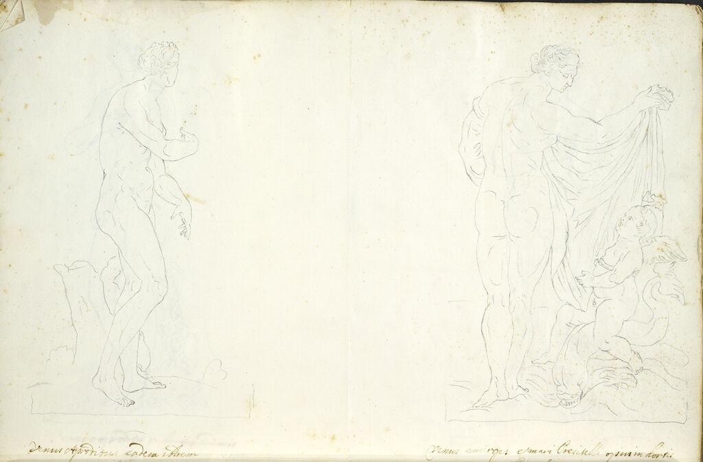 Medici Venus-Aphrodite And Borghese Venus On The Water