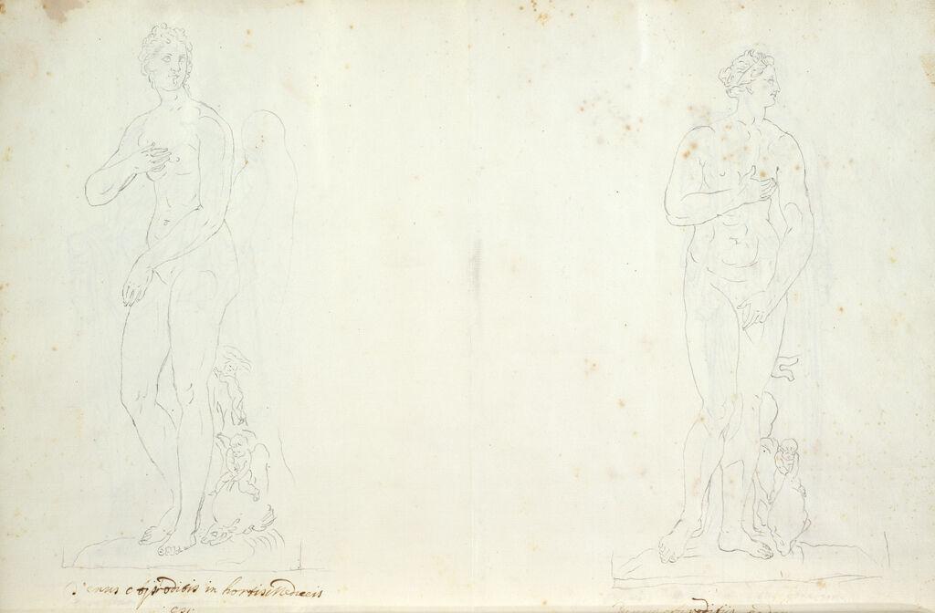 Two Views Of The Medici Venus-Aphrodite