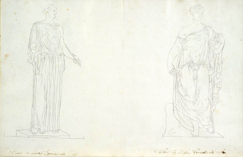 Ludovisi Muse And Farnese Flora