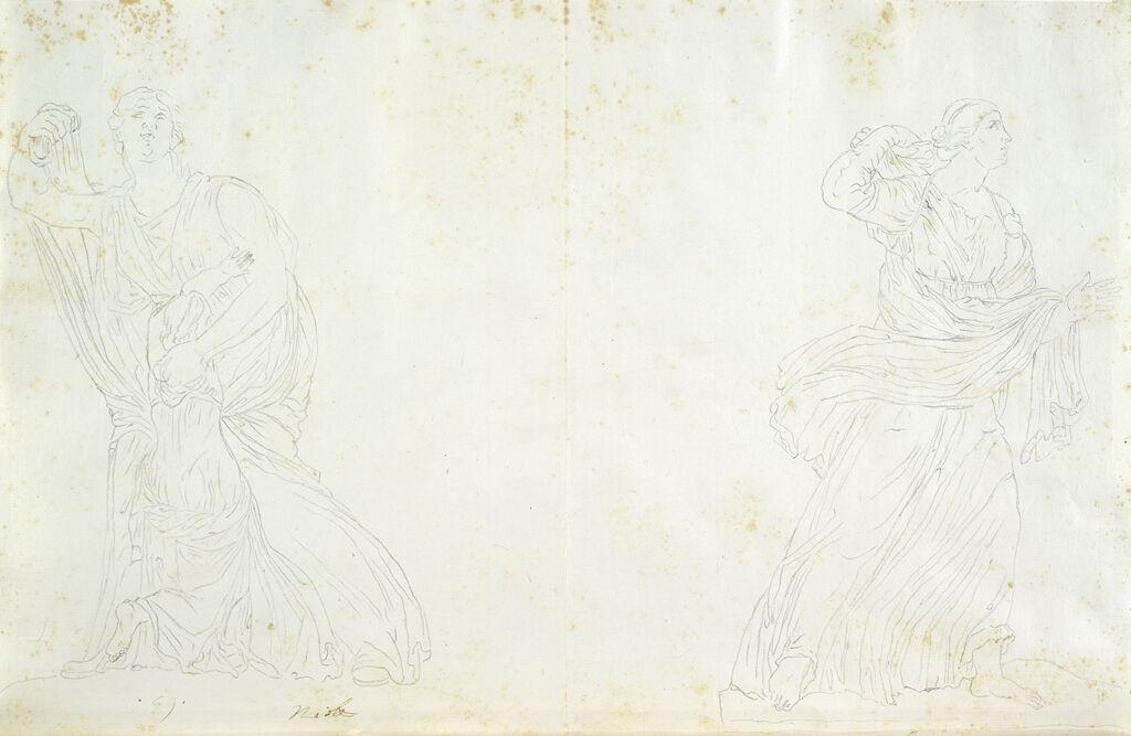 Medici Niobe And Medici Daughter Of Niobe