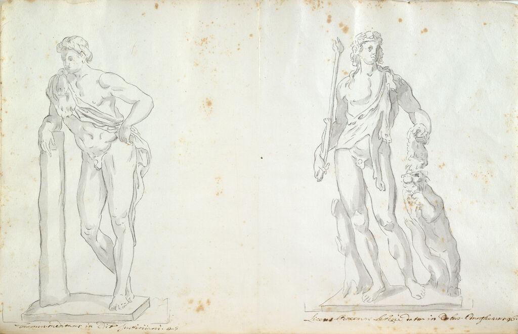 Giustiniani Faun And Borghese Indian Bacchus