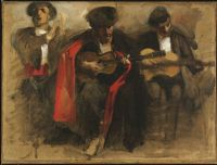 Study For Seated Musicians For
