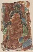Bust Of Bodhisattva (From The North Wall Of Mogao Cave 329 At Dunhuang, Gansu Province)