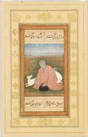 A Nath Yogi With Two White Dogs, Folio From The Salim Album