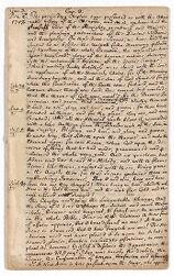 Exposition no. 3, 1708 December 2-1708 December 16 Digital Object