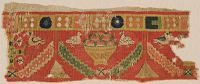 Fragment (Of A Hanging?) With Jeweled Border