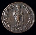Follis (Ae3) Of Fausta, Ticinum
