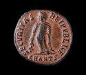Follis Of Flavia Julia Helena, Antioch