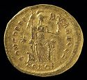Solidus Of Theodosius Ii, Constantinople