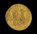 Solidus Of Michael Iii And Theodora, Constantinople
