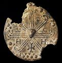 Lead Hystera Amulet Of Saint Theophano